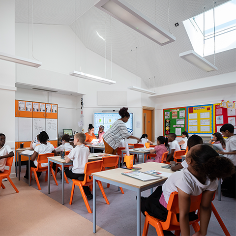 Bellenden Primary School, Cottrell & Vermeulen Architecture