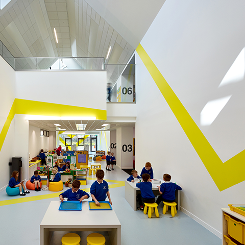Broomlands Primary School, Stallan-Brand Architecture + Design