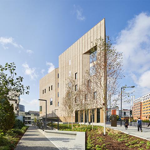 Royal Birmingham Conservatoire, Feilden Clegg Bradley Studios