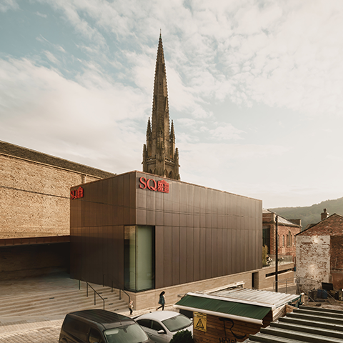 Square Chapel Arts Centre, Evans Vettori Architects