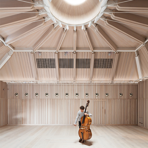 Royal Academy of Music - Theatre and New Recital Hall, Ian Ritchie Architects