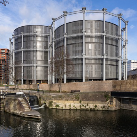 Gasholders London, WilkinsonEyre with Jonathan Tuckey Design