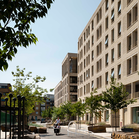 Kings Crescent Estate Phases 1 & 2, Karakusevic Carson Architects and Henley Halebrown