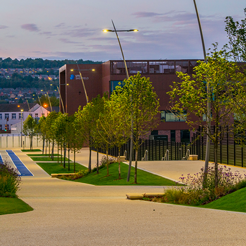 Sheffield Olympic Legacy Park, Ares Landscape Architects