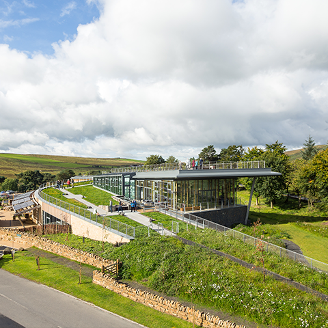 The Sill National Landscape Discovery Centre, JDDK Architects