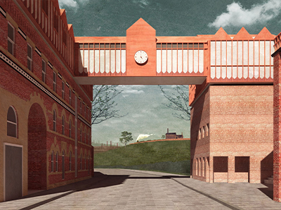 Winner: Courtnay Ives and Yiting Zhou, Manchester School of Architecture