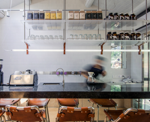 Bars & Restaurants Winner: Office AIO, Big Small Coffee and Guestroom, Beijing, China