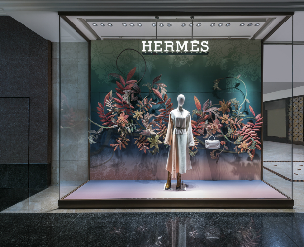 Display Highly Commended: AK+, Loco Local for Hermes 2016: Spring / Summer Forever, Singapore
