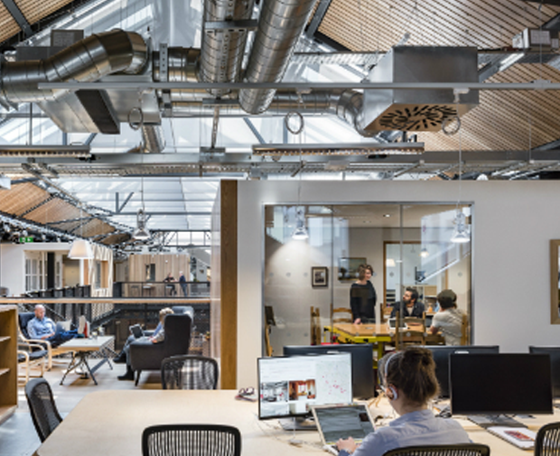 Offices Winner: Heneghan Peng Architects, Airbnb European Headquarters, Dublin, Ireland