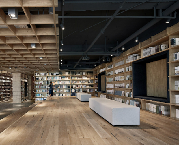 Retail Highly Commended: Beijing Fenghemuchen Space Design, Baoding Xinhua Bookstore, Baoding, China