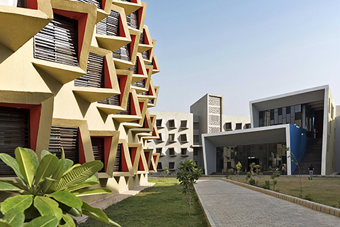 Completed Building - Large Scale Housing Supported by GROHE, Winner